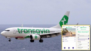 Transavia: App kommt gut an. Pressefotos Airline