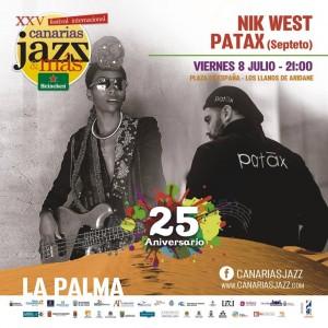 Abschluss der Patrona-Fiestas in Los LLanos: Jazz-Konzert auf der Plaza!