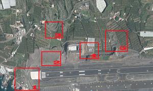 Die Aussichtspunkte der Plane-Spotter: Rings um den Flughafen von Santa Cruz de La Palma gibt es insgesamt acht - und die Fotografen müssenn in diesen Gebieten noch durch teils felsiges Gelände stapfen, um die Flieger optimal in den Fokus zu bekommen.