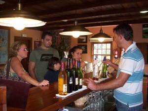 Weinproben im Museo del Vino in Las Manchas: Wieder ab dem 18. Juli 2016 möglich. Foto: La Palma 24
