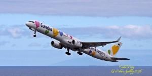 Carlos Díaz liebt Flugzeuge: mit Herzen natürlich ganz besonders...