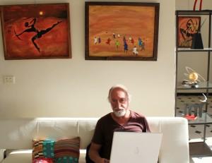 Francisco Aldeano: sitzt als Industrie-Designer auch öfter mal vorm Computer. Foto: La Palma 24