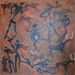 """""""Genesis"""" hat Francisco Aldeano dieses Bild überschrieben: Es zeigt die """"Geburt eines Volkes"""""""