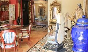 Hotel Hacienda de Abajo und Restaurant El Sitio: Im Eingangsbereich wird´s schon ein bisschen luxuriöser... Foto: La Palma 24