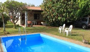 Auf dem Gelände von Jürgen in La Punta gibt es auch ein Apartment mit Pool: Hier können sich die Kursteilnehmer auch einmieten, und in der Nachbarschaft gibt es ebenfalls Urlaubsdomizile. Foto: La Palma 24