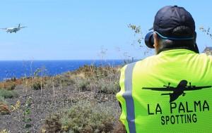"Carlos Díaz unterwegs: ""An Tagen ohne Spotting fühle ich mich schlecht."" Foto: La Palma 24"