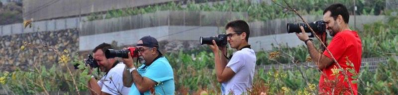 Die Plane-Spotter von La Palma: Wer mitmachen will, ist herzlich willkommen.
