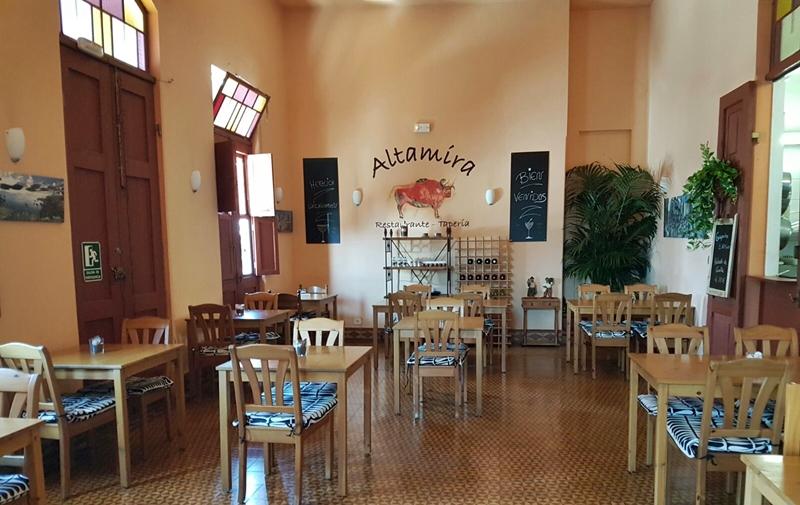 Just renoviert: Das Altamira in Todoque bietet authentisches La Palma-Feeling und leckere Tapas und Gerichte.
