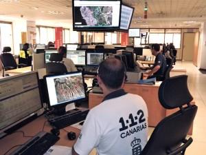 Hier gehen die meisten Hilferufe ein: Notfallzentrum der Kanaren - erreichbar unter der 112!