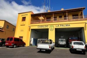 Das Notfall-Koordinationszentrum CECOPIN in Brena Alta: Hier werden die Einsatzkräfte auf La Palma aktiviert - Notfallnummer: 922.43.76.50!