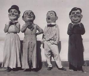Mascarones: Die lustigen Figuren