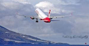 Airberliln-Maschine auf La Palma: