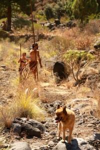 Salto del Pastor: Seit Jahrhunderten sind die Bewohner der Kanaren mit Lanzen im Gelände unterwegs. Foto: Palmeros en El Mundo