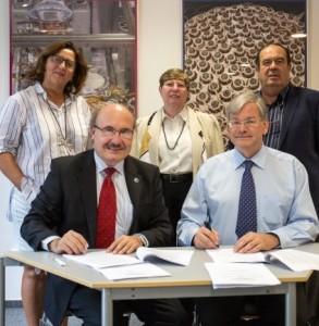 Rahmenvereinbarung für die neuen Cherenkov-Teles unterzeichnet: