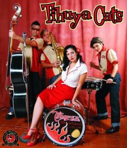 Die Tihuya Cats: Rock´n´Roll-Magma in Fuencaliente.