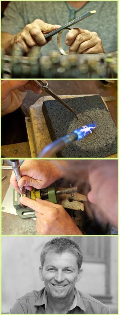 Volcán Verde: Alle Stücke entstehen in Handarbeit vom Goldschmied.
