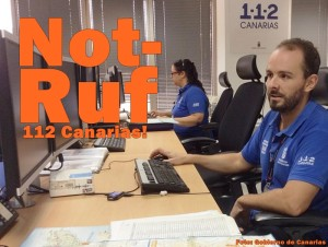Notruf 112: Mit dieser Telefonnummer erreichen Sie die Zentrale auf den Kanaren, die die Hilfe vor Ort koordiniert. Es gibt Auskünfte in verschiedenen Sprachen.