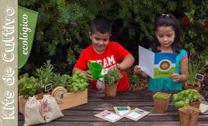 Öko-Anbau-Kits für Kids und Erwachsene: