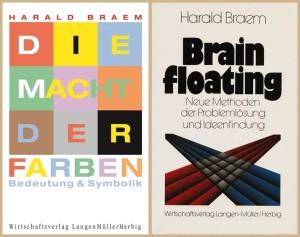 """Braem-Sachbücher """"Macht der Farben"""" und """"Brain-Floating"""": 1+1=3!"""