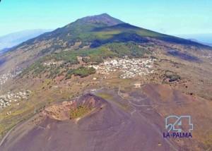 Die Vulkane im Süden von La Palma: alles stabil! Foto: Axel/La Palma 24