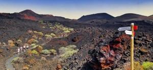 Die Vulkane im Süden von La Palma: beliebtes Ziel für Wanderer. Foto: Hola Islas Canarias