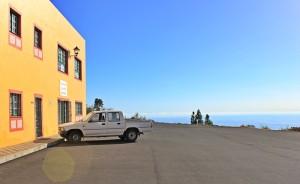 Über den Wolken: Auch in der SAT-Kellerei in Tijarafe - auf La Palma Bodega genannt - hat man eine tolle Aussicht auf den Atlantik. Foto: La Palma 24