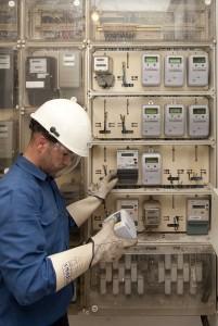 El nuevo medidor de electricidad digital: En La Palma, se intercambian alrededor de dos tercios de todos los contadores. Foto de prensa Endesa