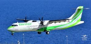 """Binter Canarias: Die Inselhüpfer sind """"Europäische Regional-Airline des Jahres"""". Foto: Carlos Díaz La Palma Spotting"""