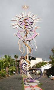 Fronleichnam: wird auf La Palma in Mazo mit einem Blütenfest gefeiert. Foto: La Palma 24
