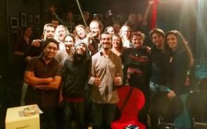 Flamenco entre Amigos-Sommer-Tour 2016: Die Botschafter von La Palma fanden viele neue Freunde wie hier im schottischen Edinburgh.