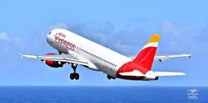 Iberia Express: fliegt im Winter 2016/17 täglich Madrid - Santa Cruz de La Palma. Foto: Carlos Díaz La Palma Spotting