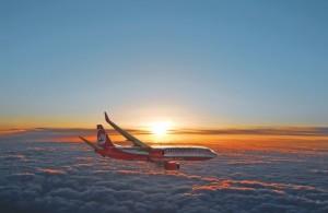 Abertausende von Feriengästen flogen mit der Airberlin nach Santa Cruz de La Palma: Zum Sommerflugplan 2017 soll NIKI übernehmen. Pressefoto Airberlin