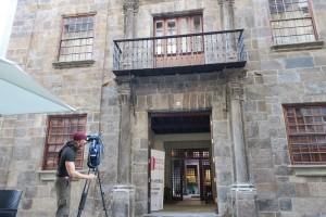 Der Palacio Salazar, auch Casa Salazar genannt: Fassade aus dem 17. Jahrhundert ist wieder wie neu. Foto: Cabildo