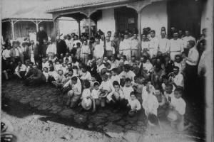 Alte Fotos der Stadtteile von Los Llanos: Vorlagen für die Krippenbauer.