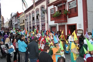 Karneval in Santa Cruz de La Palma: jedes Jahr ein anderes Thema! Foto: Stadt