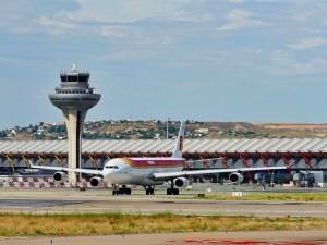 Madrid-Barajas: Mit Iberia und Iberia Express kann man über dieses Drehkreuz von vielen Städten Europas aus nach La Palma gelangen. Foto: AENA