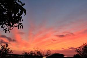 sunset-la-palma-mit-auto-gudi