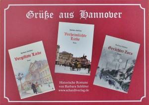 Die drei Romane von Barbara Schlüter: Familiengeschichte, die auch auf La Palma spielt.