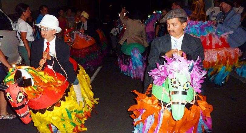 Caballos Fuscos in Fuencaliente: kann man nicht übersetzen, ist einfach eine witzige Tradition. Foto: Asociación