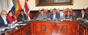 Santa Cruz de La Palma: Gemeinderat beschließt Haushaltsplan 2017. Foto: Stadt