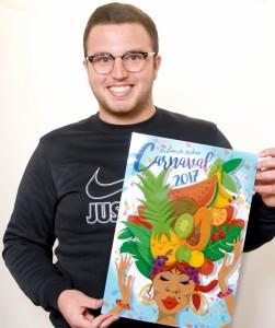 Gewann den Karneval-Plakatwettbewerb 2017 der Stadt Los Llanos: