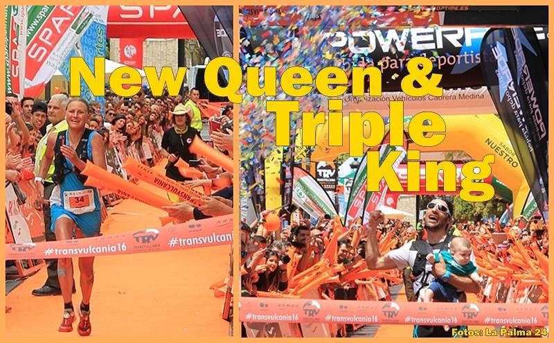 Die Siegerfotos von 2016: Die Läufer lieben La Palma vor allem wegen der unglaublichen Begeisterung der Zuschauer. Fotos: La Palma 24