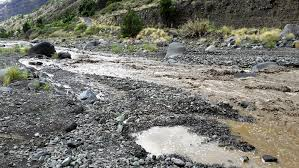 Barranco de las Angustias: Das Hochwasser ist vorbei, der Wanderweg wieder offen.