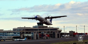 Canaryfly: fliegt auch mehrmals täglich von Teneriffa-Nord nach Santa Cruz de La Palma. Foto: Carlos Díaz