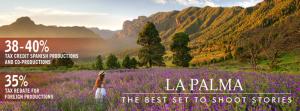 La Palma: Werbung für die Insel als Filmset. Foto: La Palma Film Commission