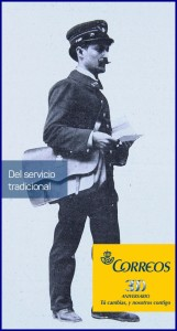 Correos Espana: Die 300 Jahre alte Spanische Staatspost gilt nach wie vor als sichere Schiene. Pressefoto Correos