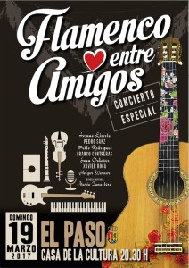 Am kommenen Sonntag: Flamenco-Konzert in El Paso.