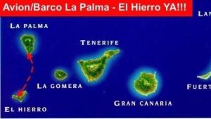 Immer mal wieder gefordert: eine direkte Fährverbindung von La Palma nach El Hierro.
