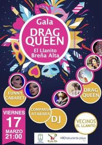 Drag Queens aus Gran Canaria fliegen ein: Brena Alta lädt zur schrillen Party im Rahmen der Sardinenverbrennung ein.