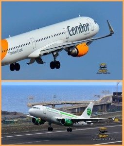 Vertriebskooperation: Condor und Germania arbeiten zusammen. Fotos: Carlos Díaz La Palma Spotting